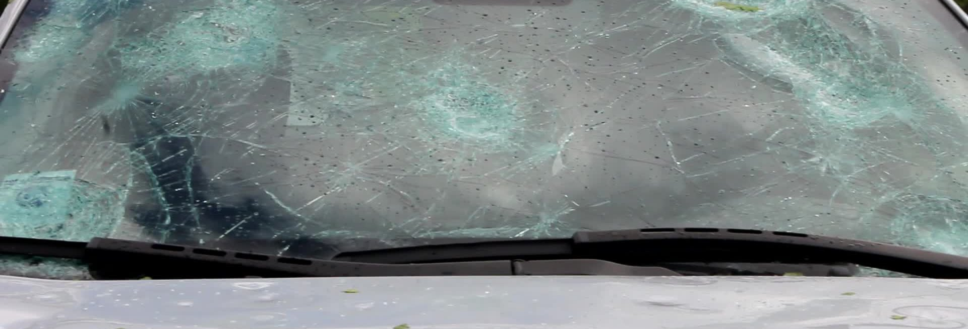 Massive Hailstorm Destroys Cars in Local Parking Lot