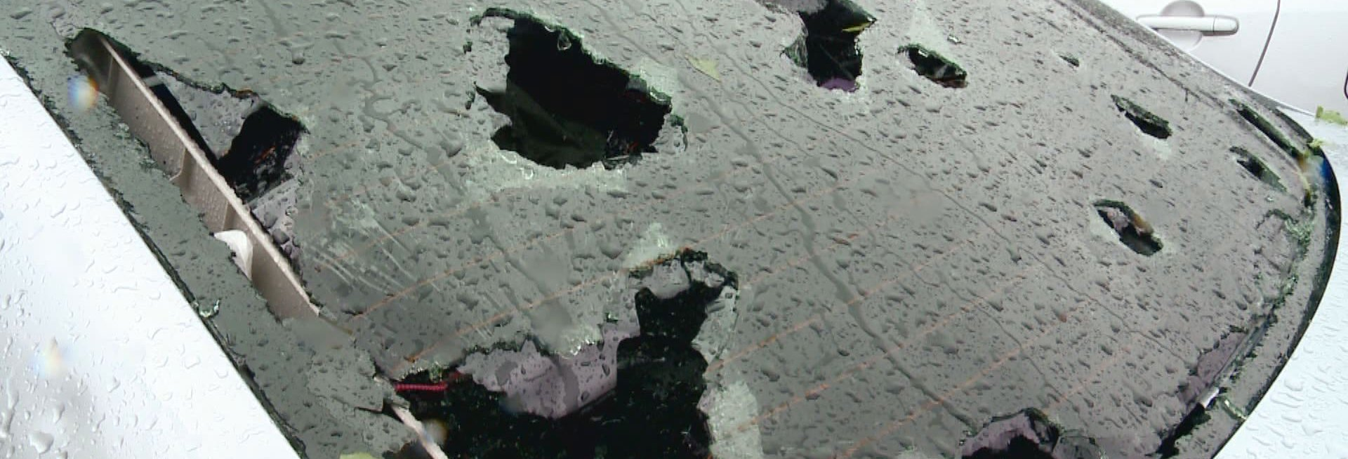 May Showers Brought Hail Damage to Lakewood Vehicles